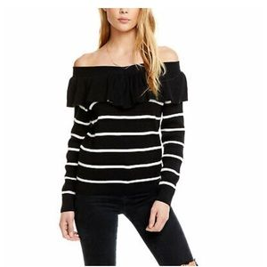 Chaser | Bare Shoulder Sweater